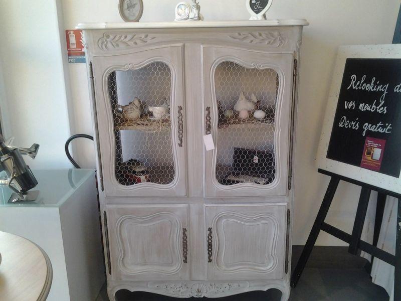 meuble style louis xv provenal relook en garde manger grillag crus
